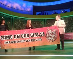 England's slogan for the Women's World Cup