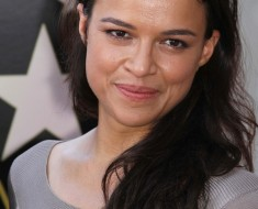 Michelle Rodriguez at the Vin Diesel Star on the Hollywood Walk of Fame Ceremony, Hollywood, CA 08-26-13