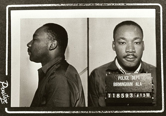 "King wrote his ""Letter from Birmingham Jail"" after being arrested at a protest on April 12, 1963"