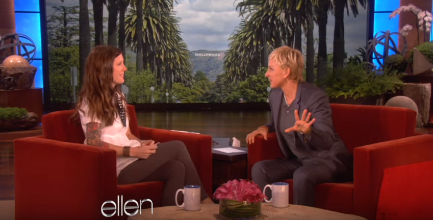 Ellen Surprises Deaf Mom