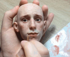 realistic-doll-faces-polymer-clay-michael-zajkov-1