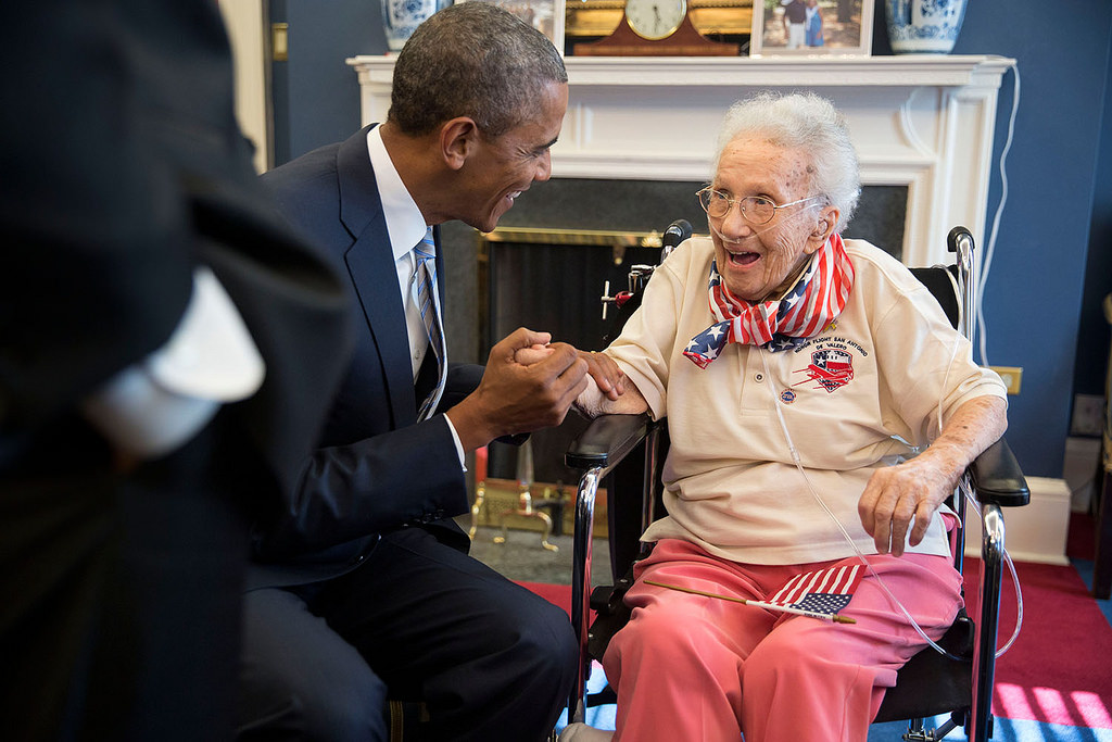 Obama Honors A Veteran