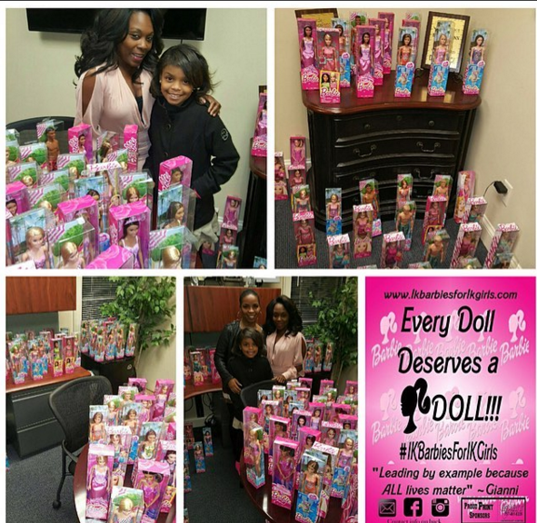 9-Year-Old Girl Collects 1,000 Barbies to Gift to the Homeless Shelter