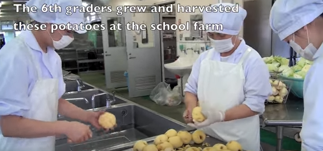 Japanese School Lunches Teach TONS
