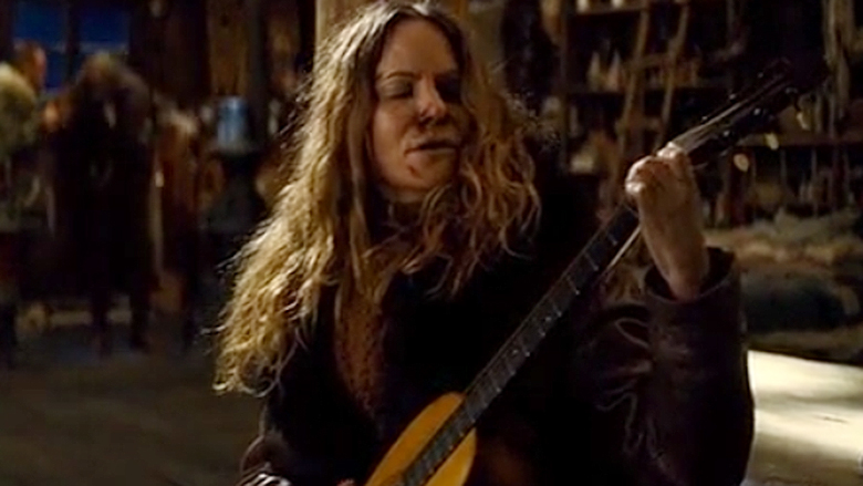 Priceless Guitar Destroyed By Hateful Eight