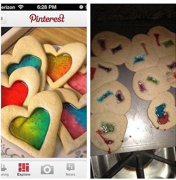 Valentine's Day Pinterest Fails