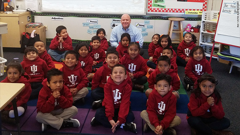 Stranger Pledges $1 Million To Put These Kindergarteners Through College
