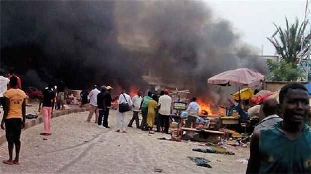 after bombing