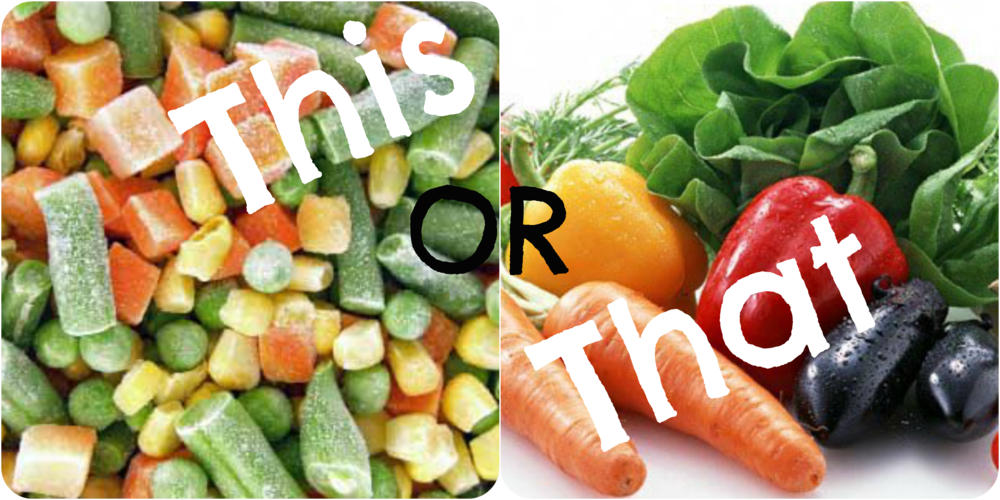 fresh food vs canned food 4 essay Point by point compare essay consuming fresh foods instead of canned foods eating is an activity that we as humans do at least two times a day.