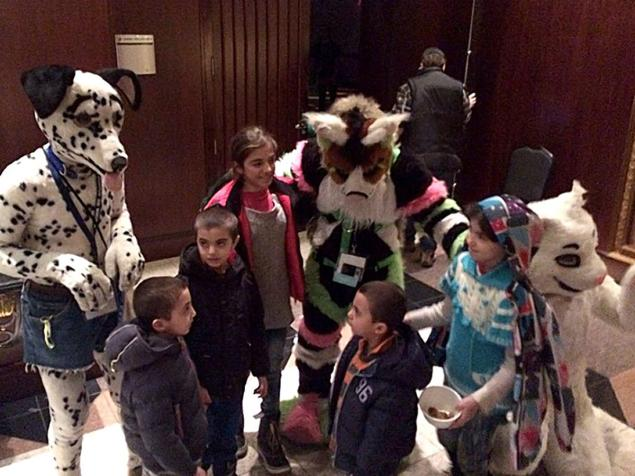 Furries and Syrian Refugees 2