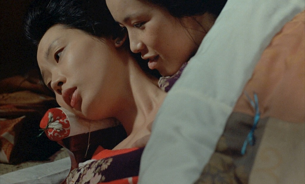"""Based on a true story of insatiable sexual desire, In the Realm of the Senses director Nagisa Oshima created one of the most controversial films of all time. The film also contains many gruesome scenes which were, luckily, re-enactments though all the sex was real. Slate said that """"In the Realm of the Senses is a film like no other, a magical fusion of art and pornography that somehow renders debates about the distinction between those two categories boringly beside the point. Asking if this film is porn is like asking if prehistoric cave paintings showing men with erections are porn. They're porn, they're art, they're elemental and beautiful; it doesn't matter."""""""