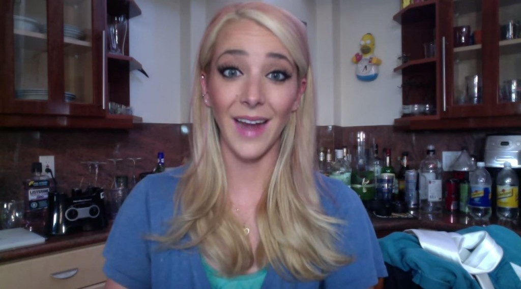 "Jenna Mourey, a.k.a. Jenna Marbles, is a hilarious YouTube star who has made over 200 videos and has over 14 million followers. Her top videos include ""How to Trick People Into Thinking You're Good-Looking"" and ""What Girls Do in the Car."""