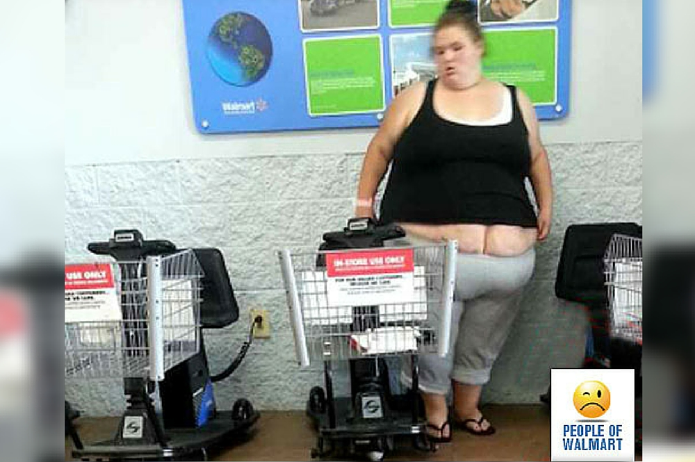 Most Ridiculous Things You Will See At Walmart Because Butt Cracks Dont Have To Be Only For Butts