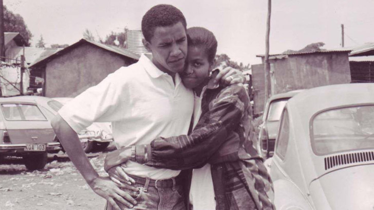 Barack and Michelle in 1992